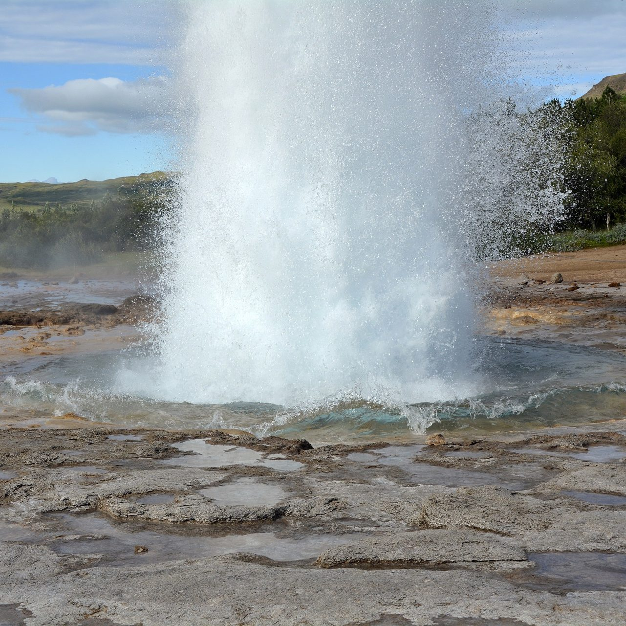 Geysir in Haukadalur, Golden Circle Tours