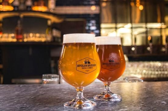 Bryggjan brewery beer tour