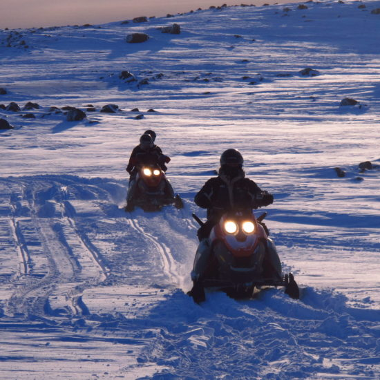 snowmobile tour in south iceland