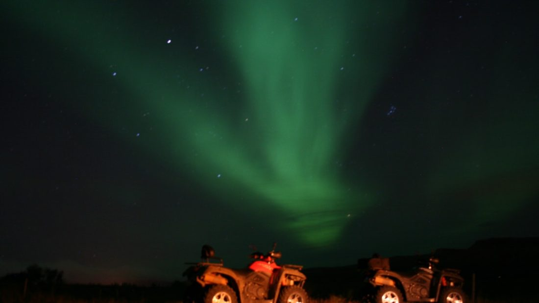 ATV quad northern lights tour from reykjavik